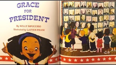 Thumbnail for entry Grace for President by Kelly DiPucchio - Read Aloud