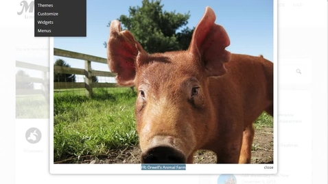 Thumbnail for entry FR: Orwell's Animal Farm