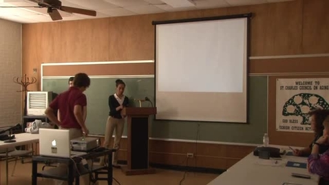 Thumbnail for entry Council On Aging Final Presentation: Alexis Cannon, Sabra Wilson, Tyler Nunez, and Eli Henson