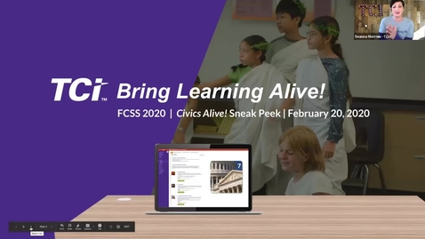 Thumbnail for entry FCSS Conference Session: TCI Civics Alive Sneak Peek
