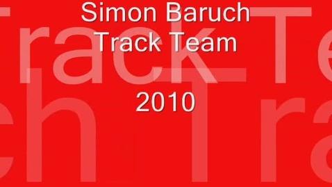 Thumbnail for entry Simon Baruch Track Team 2010