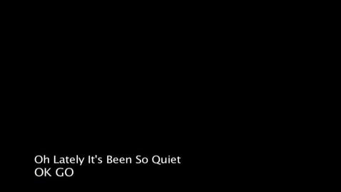 Thumbnail for entry OK Go Music Video