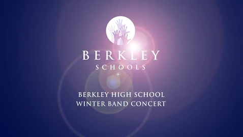 Thumbnail for entry 2013 BHS Winter Band Concert