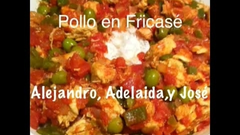 Thumbnail for entry Spanish 2 Pollo en Fricase