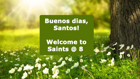 Thumbnail for entry 4-30-20 Saints @ 8