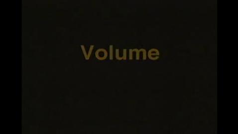 Thumbnail for entry Volume