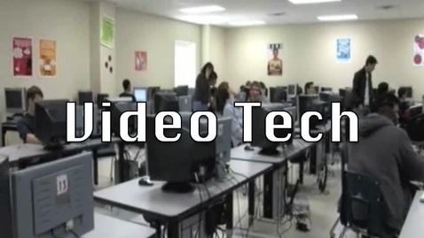 Thumbnail for entry Video Technology Course