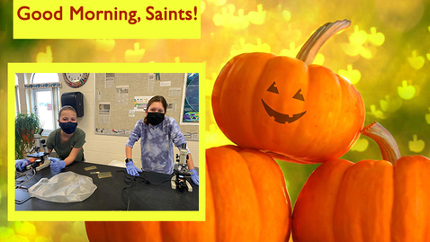 Thumbnail for entry Saints @ 8 - October 8, 2020