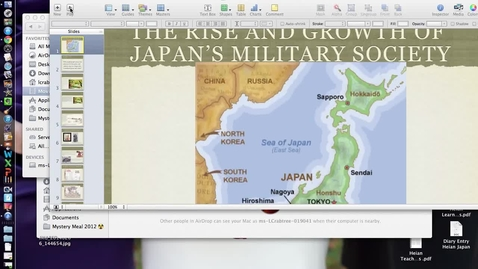 Thumbnail for entry Feudal Japan Interactive Lecture