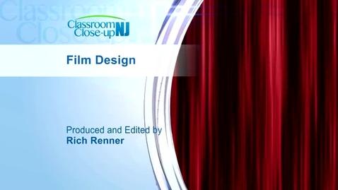 Thumbnail for entry Film Design Program Featured on Classroom CloseUp NJ