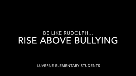 Thumbnail for entry Mrs. West Presents: Rise Above Bullying
