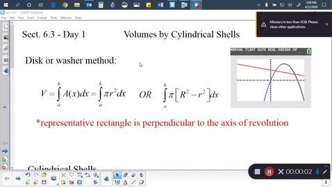 Thumbnail for entry Calc sect. 6.3 (part 1)