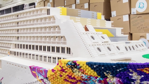 Thumbnail for entry Largest LEGO® brick ship