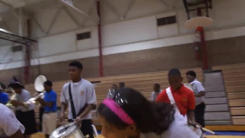 Thumbnail for entry Woodlawn Marching band pt 2