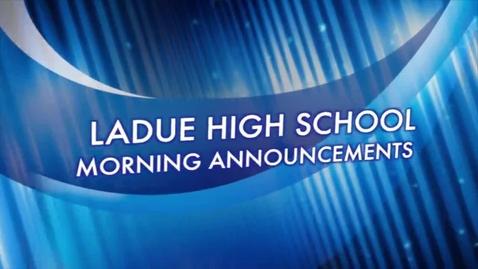 Thumbnail for entry LHS News September 18, 2014