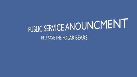 Thumbnail for entry PSA Polar Bears-MS
