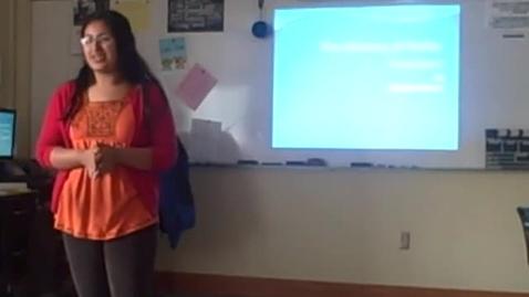 Thumbnail for entry Radhika's info speech on Facebook