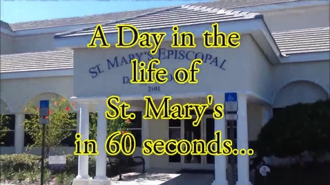 Thumbnail for entry A Day in the Life of St. Mary's in 1 Minute