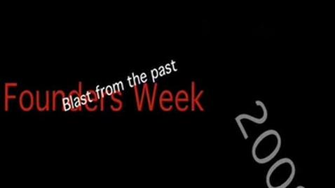 Thumbnail for entry Founder's Week Spirit Days