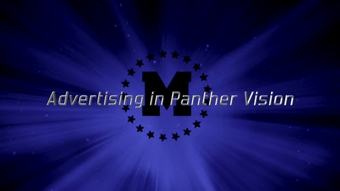 Thumbnail for entry Advertising in Panther Vision