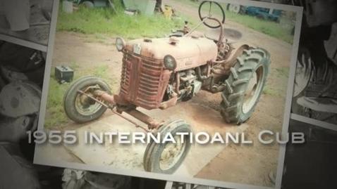 Thumbnail for entry 1955 International Cub Restoration Slideshow
