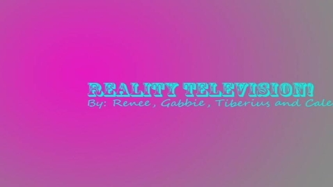 Thumbnail for entry Reality TV, Great or Awful? - WSCN