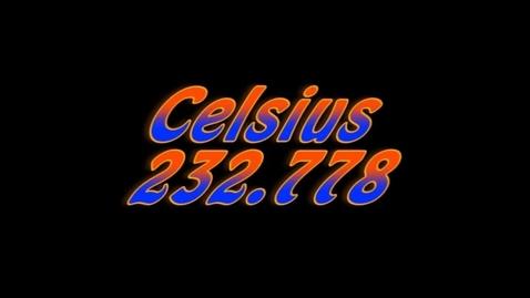 Thumbnail for entry Celsius 232.778 (a.k.a. Fahrenheit 451 Parody)