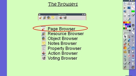 Thumbnail for entry Page Browser
