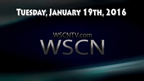 Thumbnail for entry WSCN 01.19.16 (w/ basketball highlights v Cle Heights)