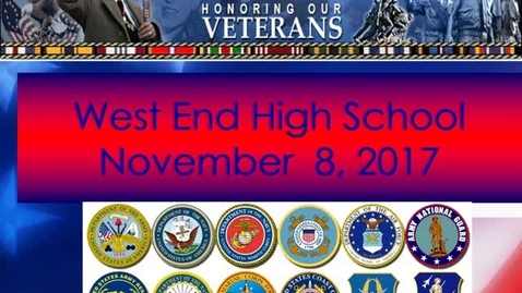 Thumbnail for entry An Honor To Those Who Serve