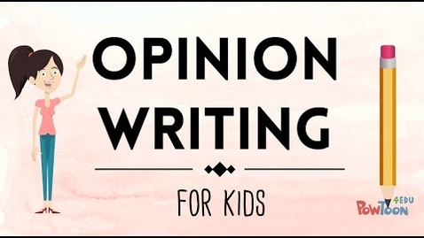 Thumbnail for entry Opinion Writing for Kids | Episode 1 | What Is It?