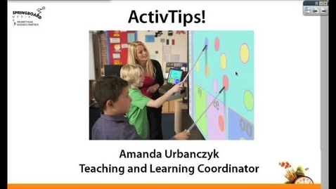Thumbnail for entry ActivInspire and your Promethean Board in your Math Classroom