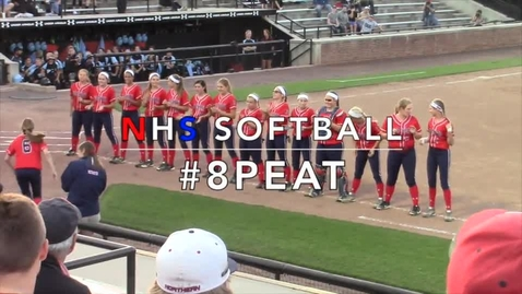 Thumbnail for entry Softball Eight-Peats