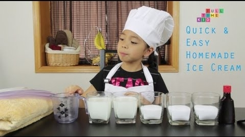 Thumbnail for entry Easy Homemade Ice Cream | Full-Time Kid | PBS Parents