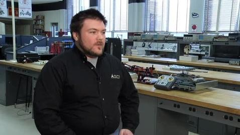 Thumbnail for entry TCHS alum talks Electronics and Robotics program