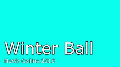 Thumbnail for entry Winter Ball Montage