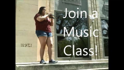 Thumbnail for entry Join a Music Class
