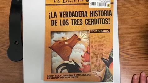 Thumbnail for entry Lectura - martes- 11/17/20- ¡La verdadera historia de los tres cerditos!