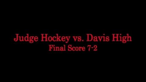 Thumbnail for entry Judge Hockey vs. Davis
