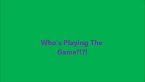 Thumbnail for entry Who's Playing the Game?