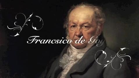 Thumbnail for entry Francisco de Goya, Pintor