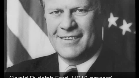 Thumbnail for entry Gerald Ford, 38th President of the United States of America