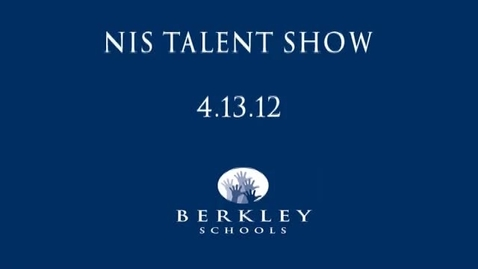 Thumbnail for entry NIS Talent Show 2012