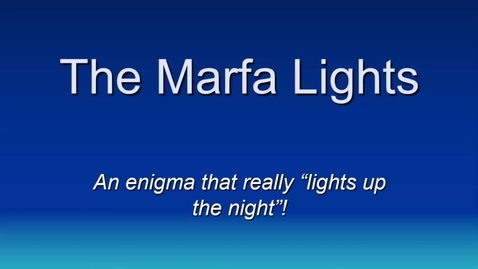 Thumbnail for entry marfa lights