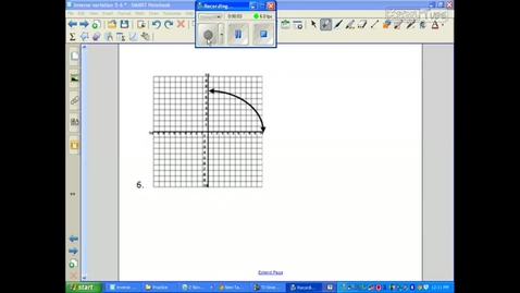 Thumbnail for entry Inverse Variation 18.1 Example 3