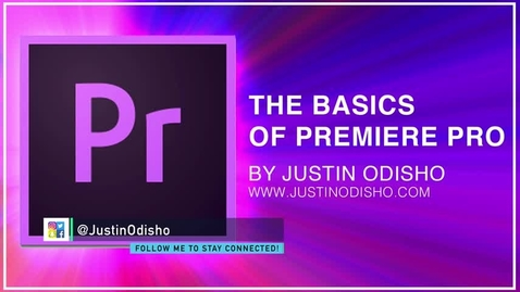 Thumbnail for entry Adobe Premiere Pro CC Beginner Tutorial Intro Guide to the Basics (Learn How to Edit Video 2017)