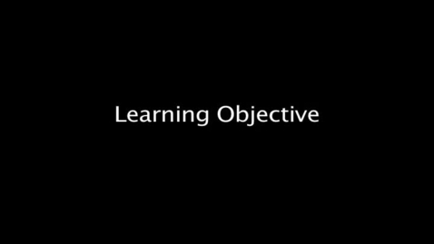 Thumbnail for entry Grade 8 English, Learning Objective (LO)