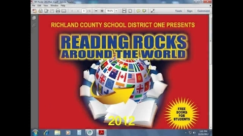 Thumbnail for entry Reading Rocks Flags