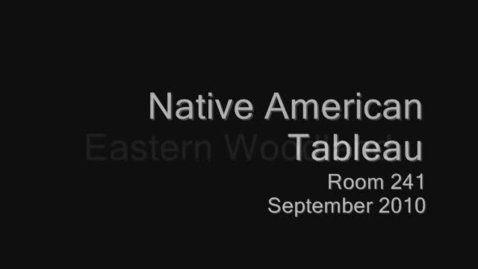 Thumbnail for entry Native American Tableau - 2010