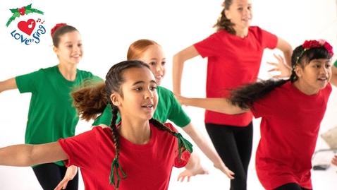 Thumbnail for entry Jingle Bells Dance | Christmas Dance Song Choreography | Christmas Dance Crew